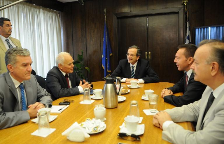 Συνάντηση με τον Πρωθυπουργό για τη Διοικητική Μεταρρύθμιση 13.07.2012